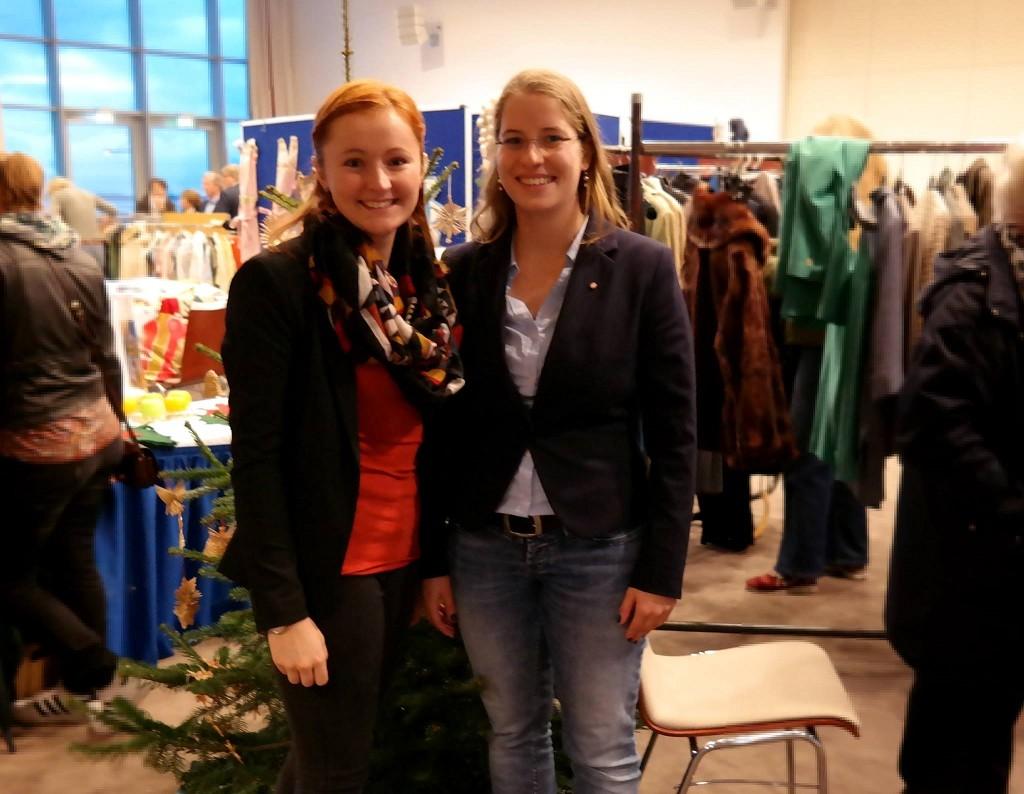 29.11.2015 Der 39. Weihnachtsbasar des Inner Wheel Club (IWC) Bremerhaven