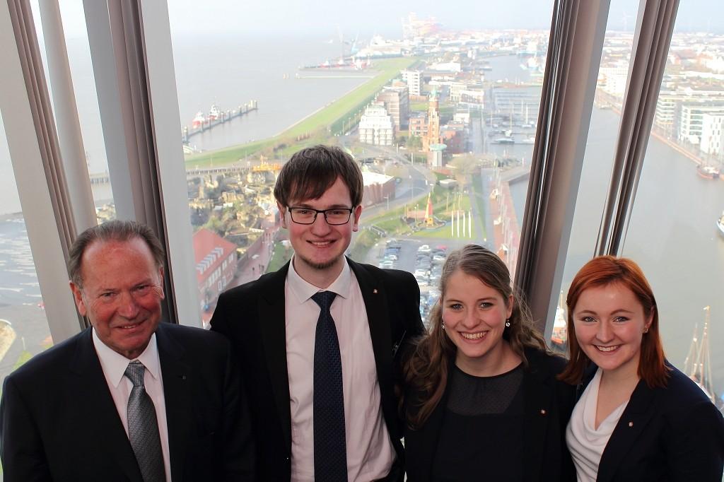 10.01.2016 Neujahrsempfang des RC Bremerhaven in der Captains Lounge des Sail City Hotels